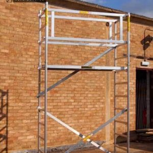 Super DIY 4 (2 In 1) Aluminium Scaffold Tower