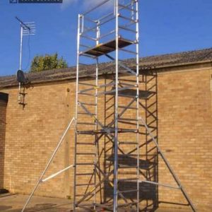 Super DIY 6 (4 In 1) Aluminium Scaffold Tower